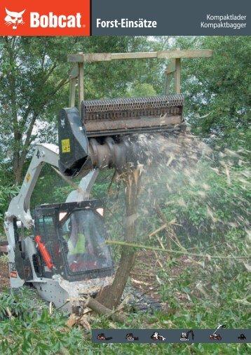 Broschüre Forstwirtschaft - Bobcat