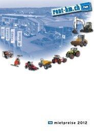 Mietpreisliste 2012 downloaden - Meier Maschinen AG