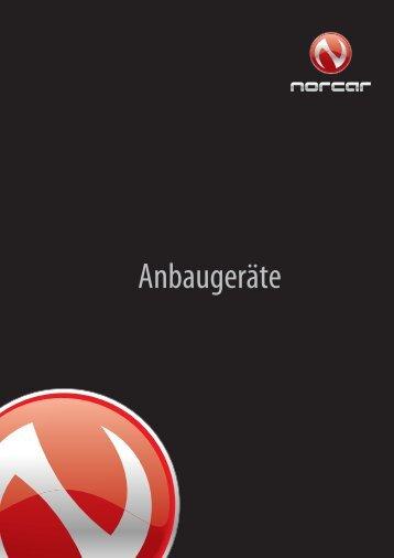 Anbaugeräte Prospekt - Weber bbf Maschinenbau GmbH