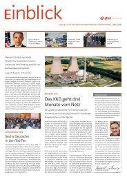 Das KKG geht drei Monate vom Netz - E.ON Kernkraft GmbH