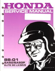 Service Manual - Hondaspree.net
