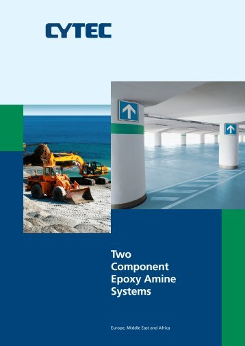Two Component Epoxy Amine Systems - CYTEC Industries