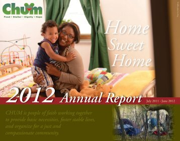 CHUM Annual Report 2012