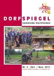 DORF SPIEGEL - Hochfelden