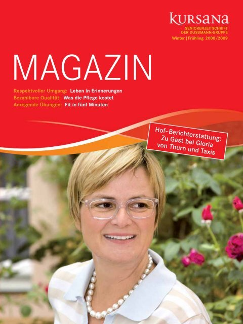 PDF Kursana Magazin 02/08 - Dussmann Group