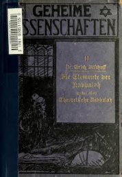 Bischoff, Erich - Die Elemente der Kabbalah (1913).pdf - Thingnetz.org