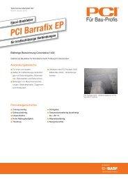 Epoxi-Baukleber PCI Barrafix EP - PCI-Augsburg GmbH