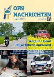 OFN Nachrichten Juni 2012 - OFN - Oldtimerfreunde Niederösterreich