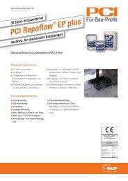 PCI Repaflow ® EP plus - PCI-Augsburg GmbH
