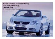 Systemarchitektur Gesamtfahrzeug.pdf - Carmeq GmbH