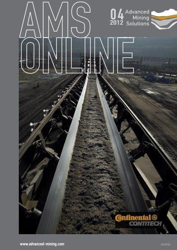 FöRDERN UND VERLADEN, PALETTIEREN ... - Advanced Mining