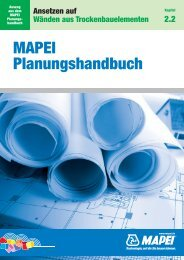 MAPEI Planungshandbuch