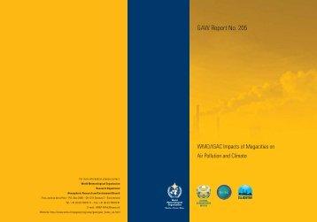 GAW Report No. 205 - WMO