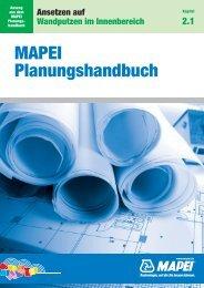 Kapitel 2.1 Ansetzen auf Wandputzen im Innenbereich - Mapei