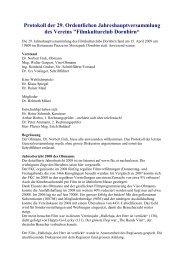 Protokoll der 29. Ordentlichen Jahreshauptversammlung des - FKC
