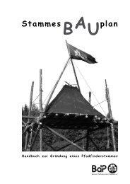 Stammes plan - BdP Landesverband Bayern - Bund der ...