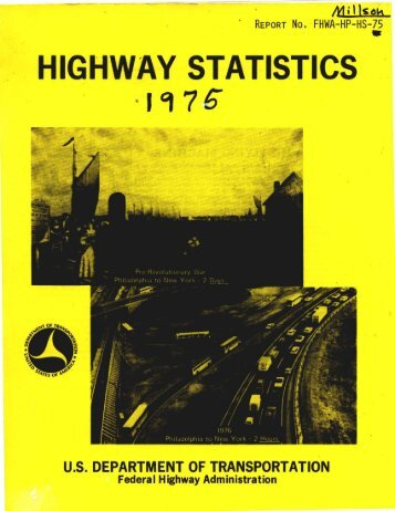 highway statistics - DOT On-Line Publications - U.S. Department of ...