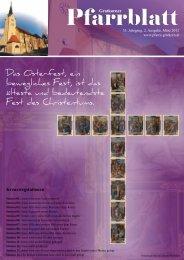 Pfarrblatt Ausgabe 2/2012 - Pfarre Gratkorn St. Stefan