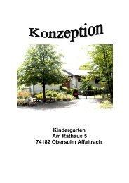Kindergarten Am Rathaus 5 74182 Obersulm Affaltrach - Gemeinde ...
