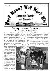 Oktober 2005 - Wann? Wo? Wer? Wie? in Schnarup-Thumby
