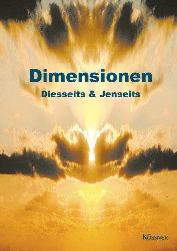 Dimensionen - KÖSSNER