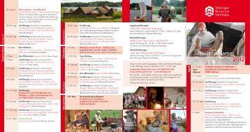 Jahresprogramm Haithabu 2012 - Schloss Gottorf