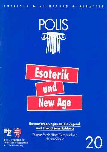 Esoterik und New Age - Hessische Landeszentrale für politische ...