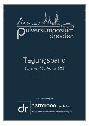 Tagungsband Pulversymposium Dresden 2013