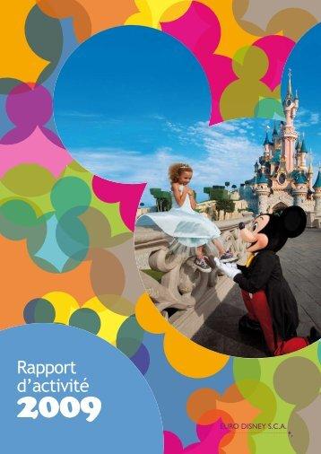 Rapport d'activité - Disneyland® Paris