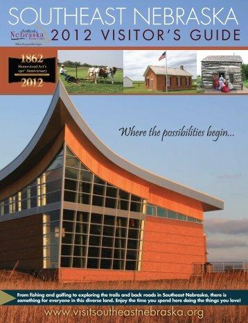 2012 Southeast Nebraska Visitor's Guide (PDF 16 MB - Deshler ...