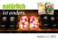 Download Mediadaten 2013 - Natürlich