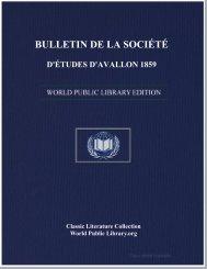 bulletin de la société d'études d'avallon 1859 - World eBook Library