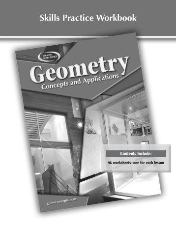 Skills Practice Workbook - Glencoe