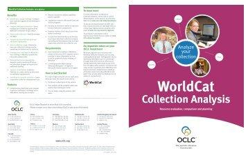 Collection Analysis - OCLC