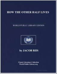 HOW THE OTHER HALF LIVES - World eBook Library