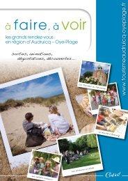 C'est ici n°27 - juin 2011 (pdf - Le tourisme sur Audruicq Oye-Plage