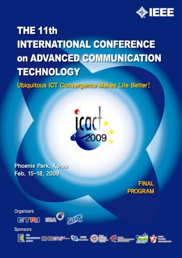 TABLE of CONTENTS - icact