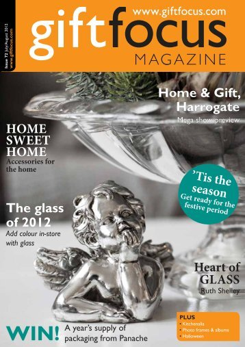 The glass of 2012 HOME SWEET HOME - Gift Focus magazine
