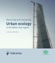 Urban ecology - The Baltic Sea Project