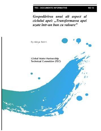 Transformarea apei uzate într-un bun cu valoare - gwp-romania.ro