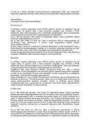 A boka és a felkar szisztolés nyomás-arányának megállapítása (ABI ...