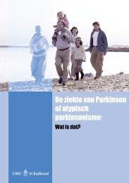 De ziekte van Parkinson of atypisch parkinsonisme - ParkinsonNet
