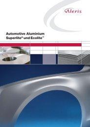 Automotive Aluminium Superlite® undEcolite - Aleris