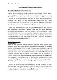 Atypische Beschäftigungsverhältnisse - FORBA