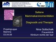 Seltene Mammakarzinomentitäten Diagnostik und Therapie von ...