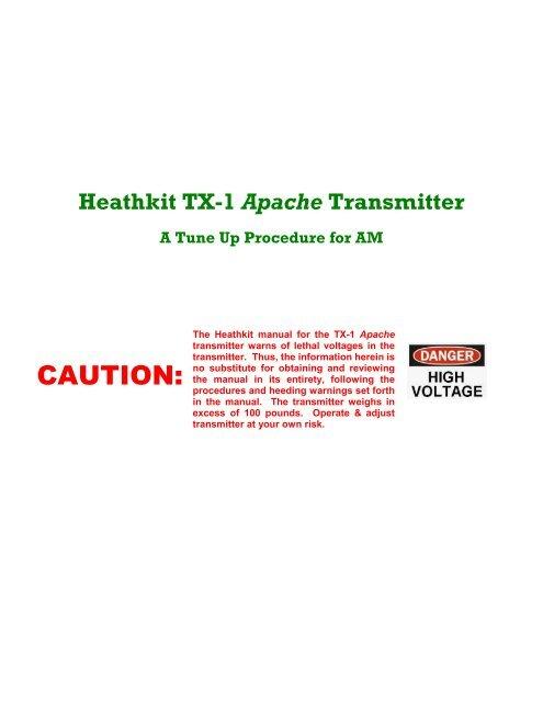 Heathkit Apache Transmitt