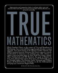 True Mathematics - David R. Adler