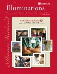 connecting with - University of Utah - School of Medicine