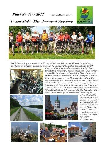 Plusi-Radtour 2012 - Plusis Schwieberdingen