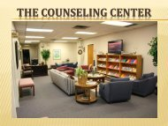 The Counseling Center - Texas A&M University-Commerce